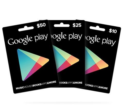 google-play-guthabenkarten-gutschein