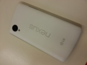 Nexus 5 Rückseite