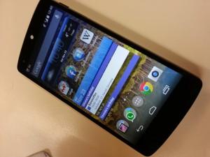 Nexus 5 Vorderseite