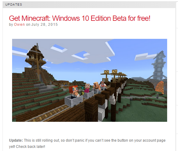 Neues Von Den Haucks Minecraft Beta Windows Edition Kostenlos Mit - Minecraft kostenlos spielen multiplayer