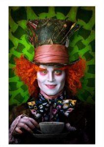 Der verrückte Hutmacher aus Alice im Wunderland